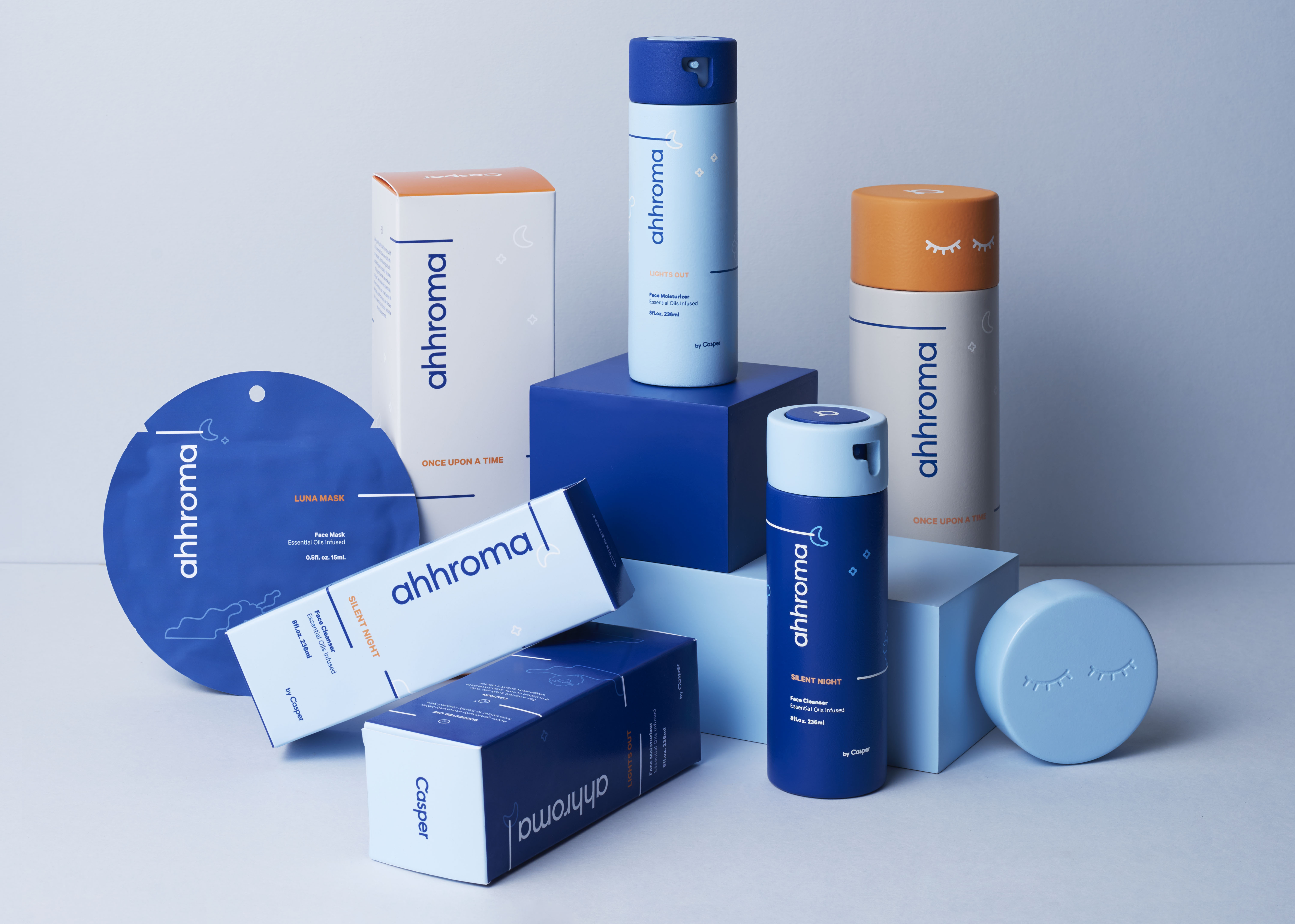 package design, skincare product, Ally