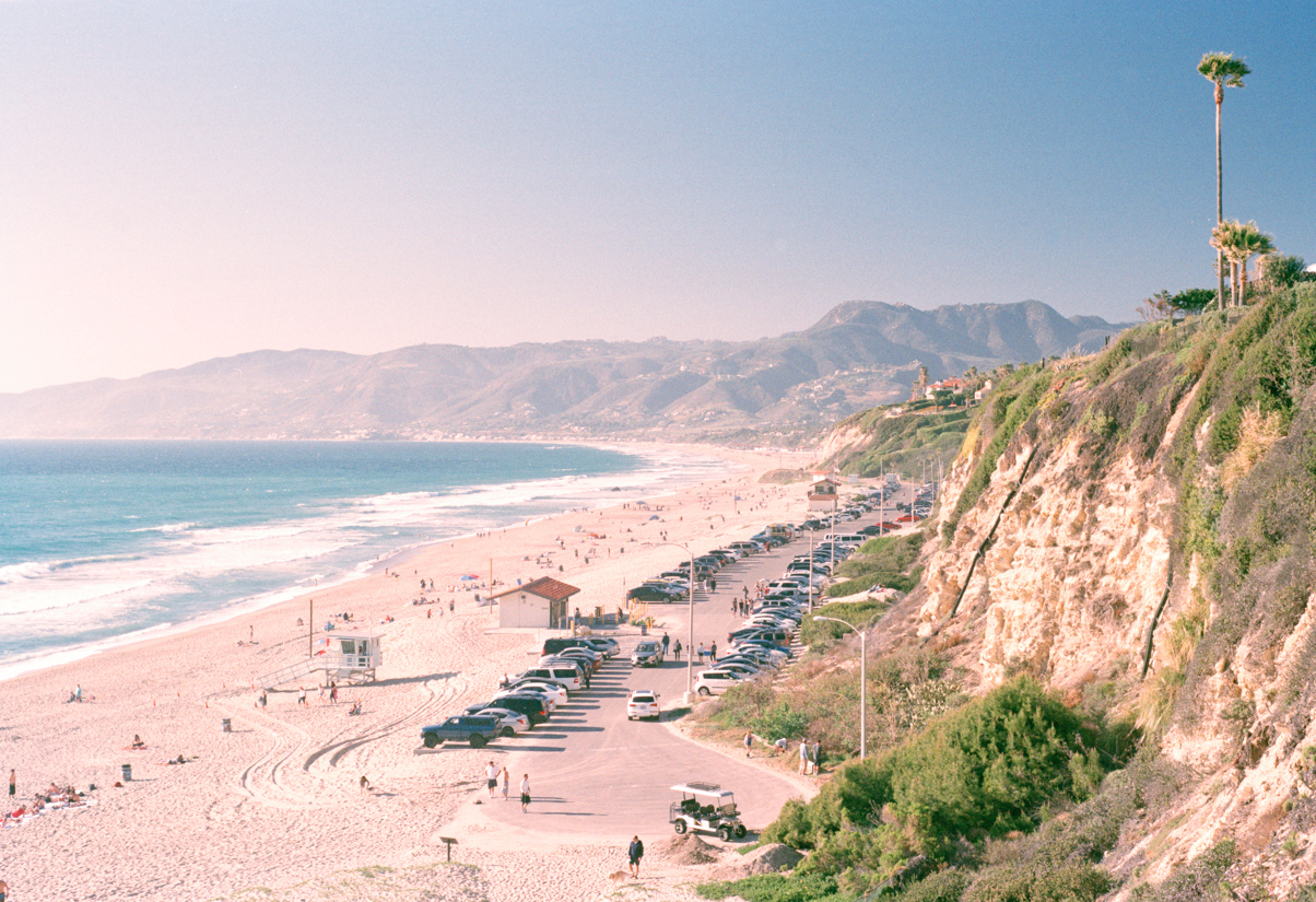 Malibu Beach - 35mm Analog Photographer LA Charlie Sin