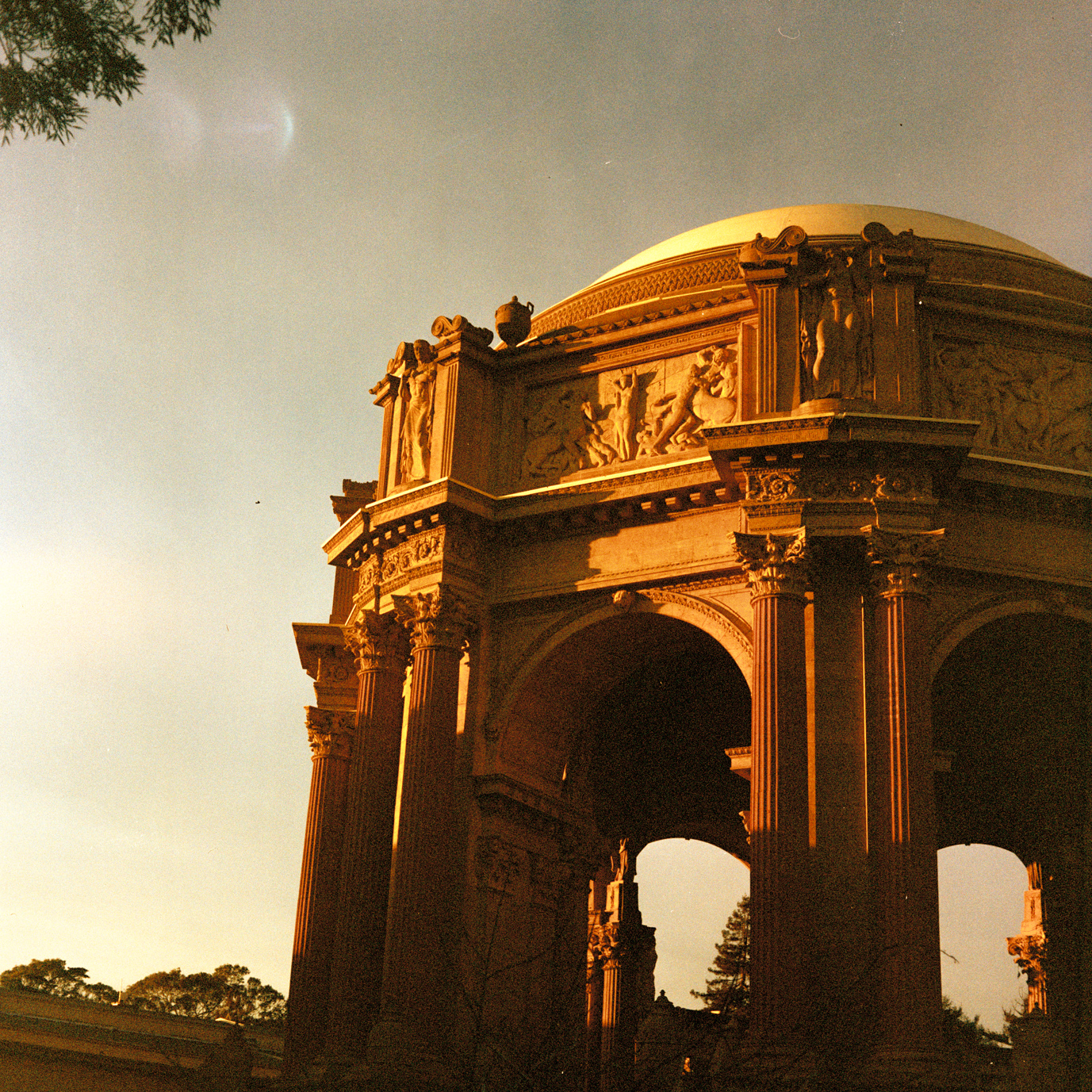 Palace of Fine Arts - Analog Photographer Charlie Sin