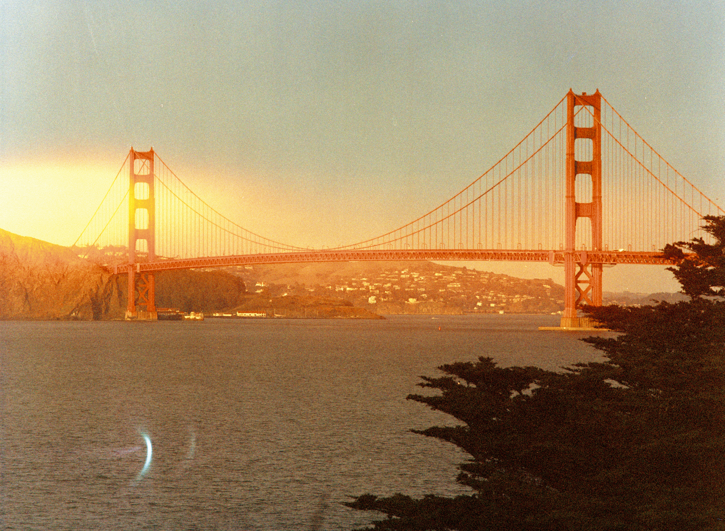 Golden Gate Bridge - Analog Travel Photographer Charlie Sin