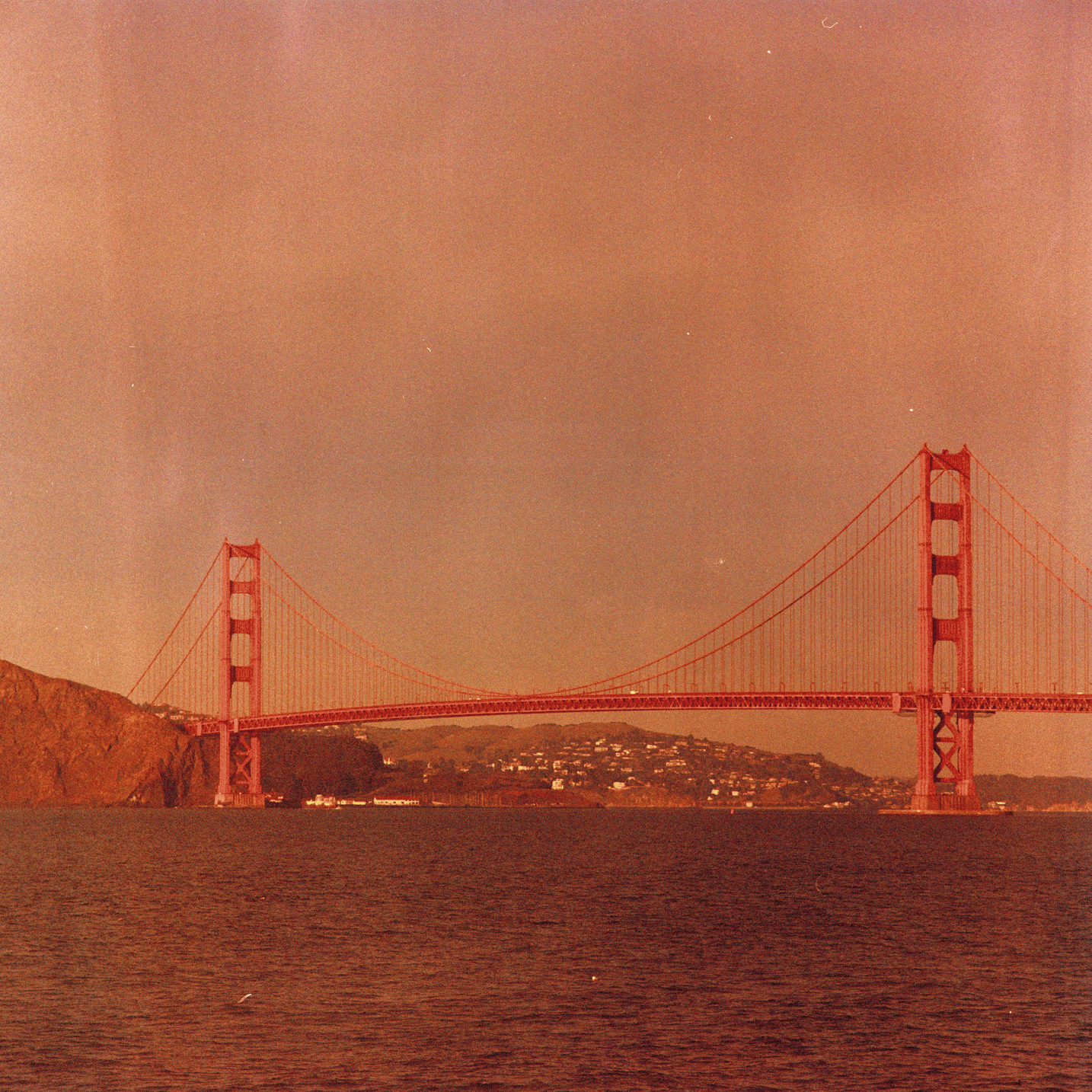 photographic film, Golden Gate Bridge, San Francisco